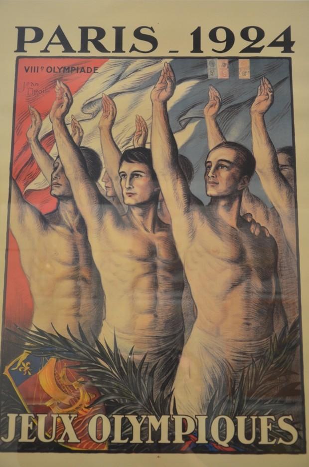 Cartaz dos Jogos de Paris-1924 (Foto: Reprodução/Wikipédia)