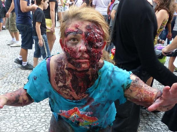 Zombie Walk (Foto: Thais Skodowski/G1)