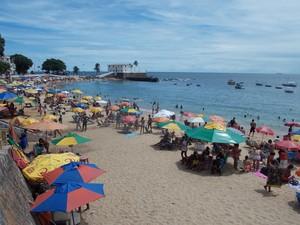 Porto da Barra (Foto: Henrique Mendes / G1)