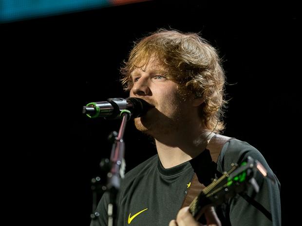 Ed Sheeran lotou Espaço das Américas em São Paulo (Foto: Diego Baravelli/G1)