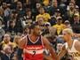 Wall abusa da velocidade, e Wizards surpreendem os Pacers em Indiana