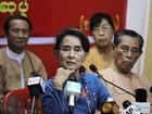 Prêmio Nobel alerta sobre freio nas reformas em Mianmar