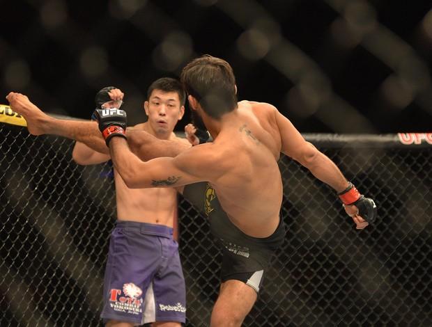 UFC Rio 5, Yan Cabral x Kotani (Foto: André Durão / Globoesporte.com)