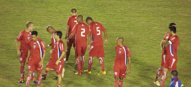 Atletas no Dario Rodrigues Leite (Foto: Filipe Rodrigues/ Globoesporte.com)
