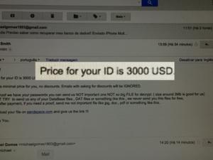 Hacker exigiu US$ 3 mil para liberar arquivos de loja em São João da Boa Vista (Foto: Reprodução/EPTV)