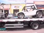 Criança de PE morre em acidente de buggy em Aquiraz (Reprodução/TV Verdes Mares)
