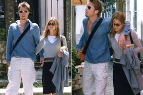 Galeria - Aniversário Brad Pitt, com Jennifer Aniston (Foto: Grosby Group / Agência)