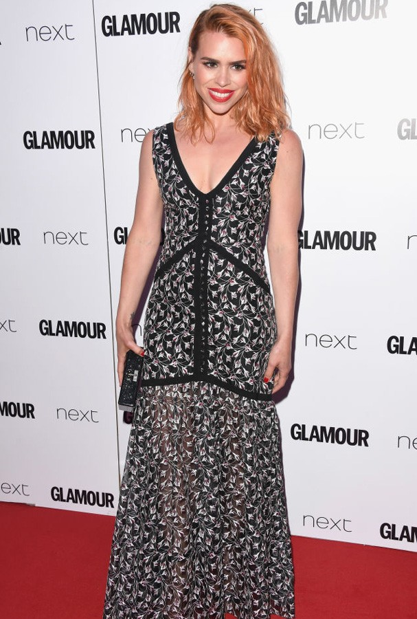 Billie Piper no Glamour Awards 2017 (Foto: Stuart C. Wilson/Getty Images)