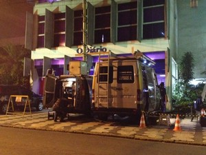 Transmissão vai mobilizar duas Unidades Móveis de Jornalismo (Foto: Marcelo Carloni/TV Diário)