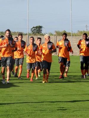CRB treino (Foto: Denison Roma/GloboEsporte.com)