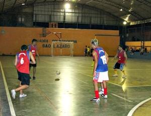 João Pessoa quer manter o título no bairro com tradição no futsal (Foto: Frank Cunha/Globoesporte.com)