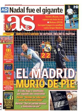 df9daac785 Jornais de Madri apontam os culpados por eliminação do Real na Copa ...