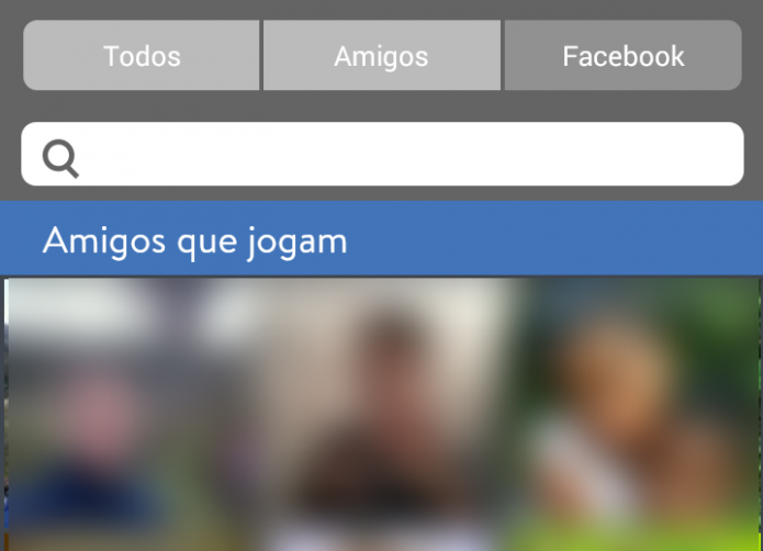 Escolha um de seus amigos que jogam no Facebook para iniciar a partida (Foto: Reprodução/Paulo Vasconcellos)