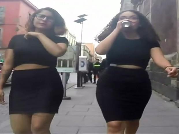 Mexicanas expõem assédio nas ruas com filmagens secretas (Foto: BBC)