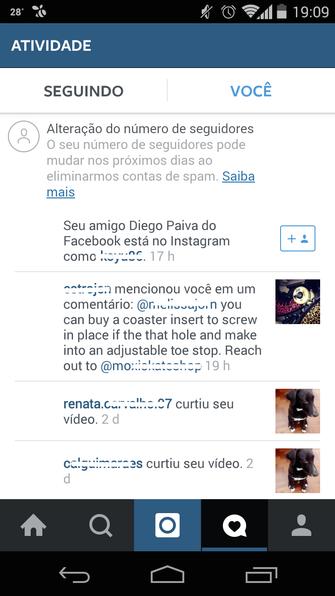 Instagram (Foto: Reprodução/ TechTudo)