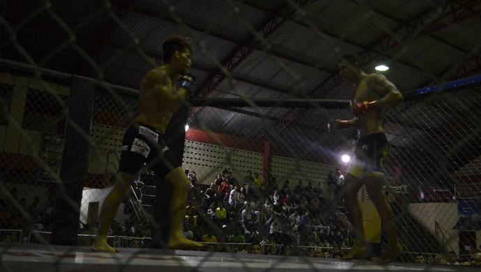 Serginho e Diego Duarte; Iron Man; MMA (Foto: Rafael Moreira/GE-AP)