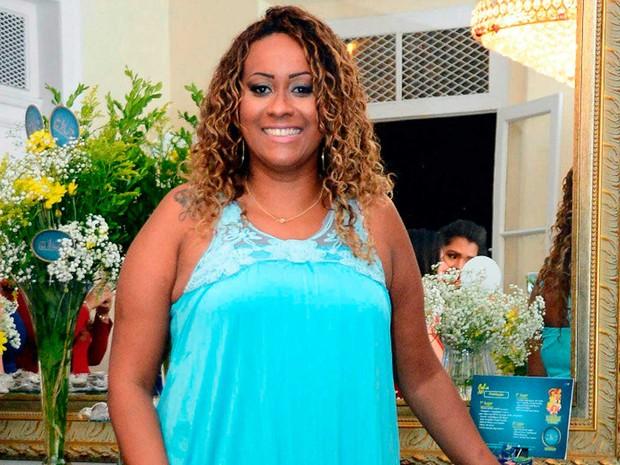 Sheila Soares, candidata do concurso a Mais Bela Gordinha da Bahia (Foto: Divulgação)