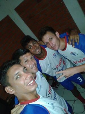 Agostinho, Vitor Recife, Tiaguinho e Alemão  (Foto: Arquivo Pessoal)