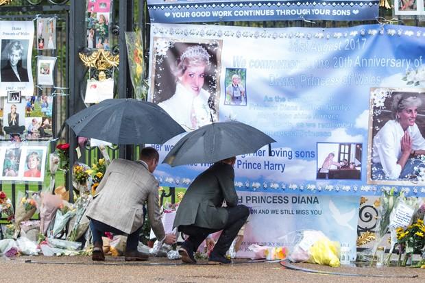 Príncipes William e Harry (Foto: Getty Images)