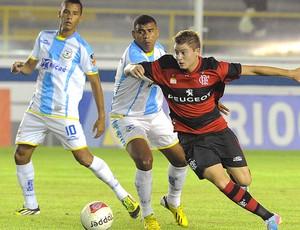 Adryan jogo Flamengo Macaé (Foto: Alexandre Vidal / Fla Imagem)