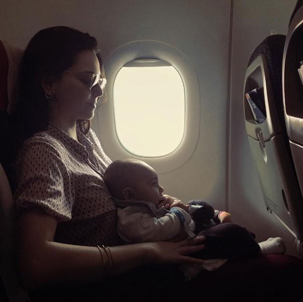 Tainá Müller posa com o filho Martin (Foto: Reprodução Instagram)