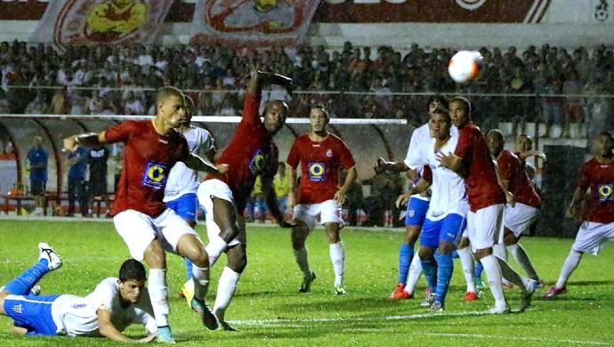 Inter de Lages x Avaí (Foto: Nilton Wolf/Inter de Lages)