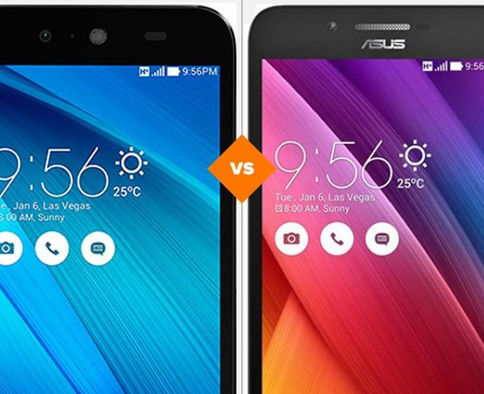Asus Live ou Zenfone Go? Descubra qual o 'baratinho' é o melhor (Foto: Arte/TechTudo)