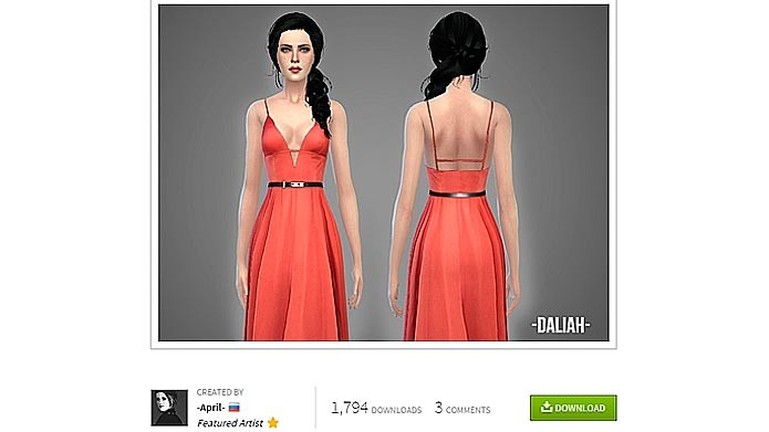 conteudo personalizado the sims 4 download