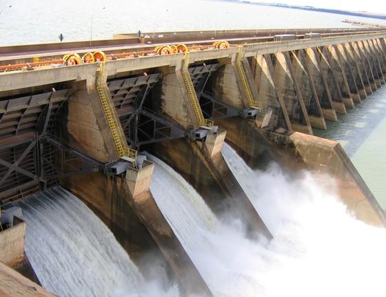 Hidrelétrica da Cesp  (Foto: Cesp )
