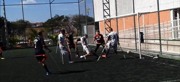 Smel Mogi Futebol amputados (Foto: Arquivo Pessoal)