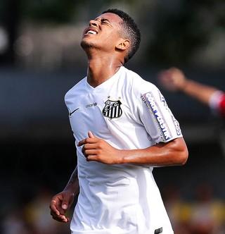 Diogo Vitor Santos (Foto: Pedro Ernesto Guerra Azevedo / Santos FC)