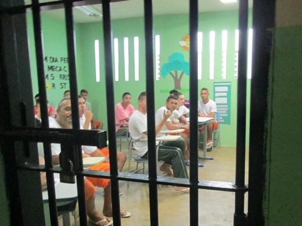 Escola para presidiários no Ceará tem mais de 700 alunos (Foto: Divulgação)