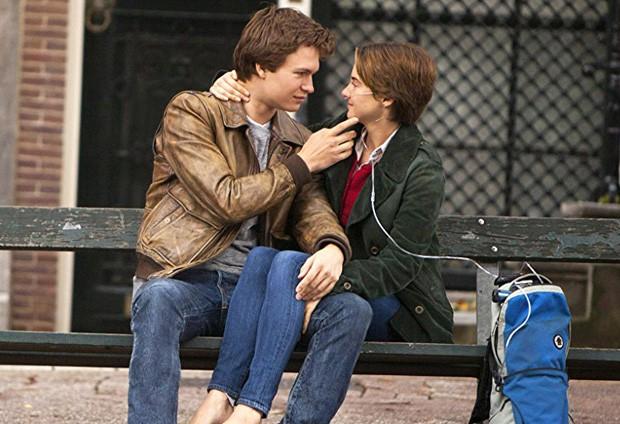 Ansel Elgort e Shailene Woodley em A Culpa é das Estrelas (Foto: Getty Images)