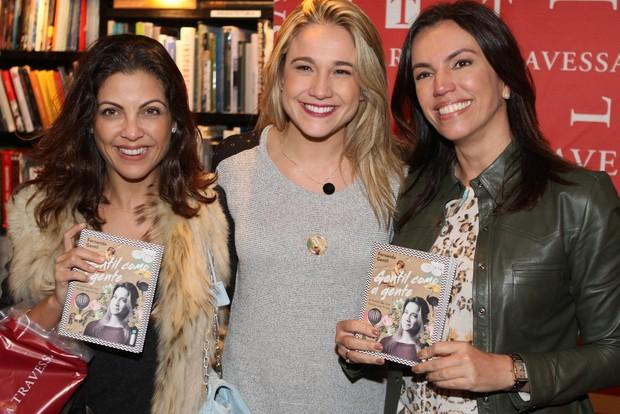 Thalita Rebouças, Fernanda Gentil e Ana Paula Araújo (Foto: Anderson Barros / Ego)