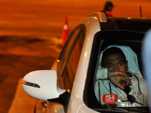 Leandro, ex-Grêmio, se envolveu em acidente em Porto Alegre (Foto: Bruno Alencastro/Agência RBS)