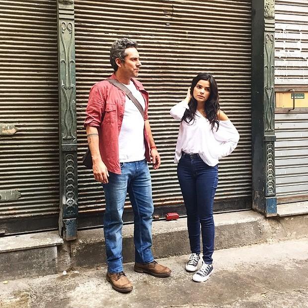 Alexandre Nero e Vanessa Giácomo (Foto: Reprodução/Instagram)