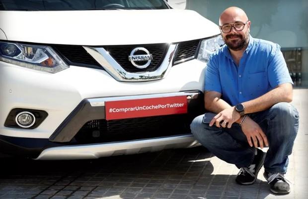 Nissan vende carro inteiramente pelo Twitter (Foto: Divulgação)