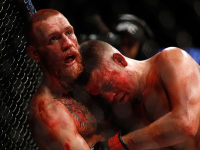 Conor McGregor; Nate Diaz; UFC 202 (Foto: Getty Images)