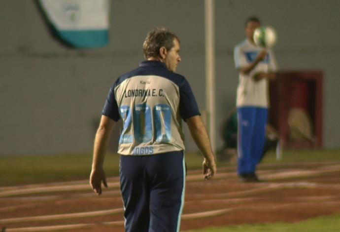 Claudio Tencati Londrina 200 jogos (Foto: Reprodução/RPC)