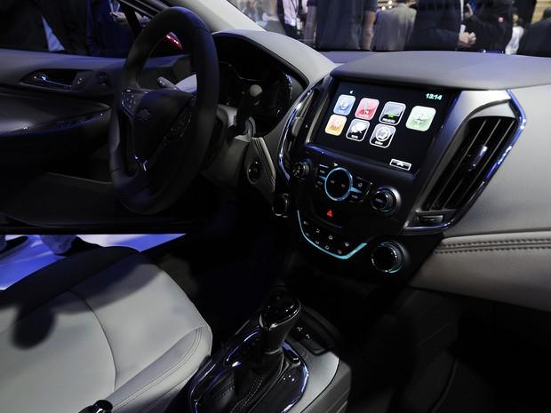 Novo Chevrolet Camaro no Salão de SP 2016 (Foto: Alan Morici/G1)
