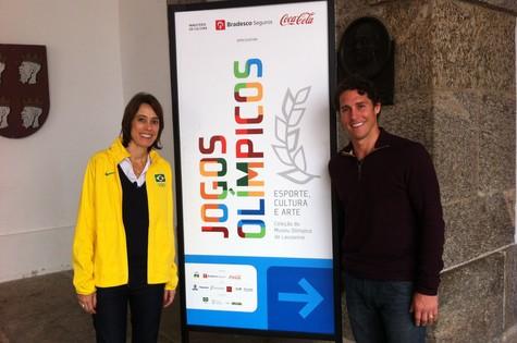 Adriana Behar e Flávio Canto (Foto:  Ian Sena)