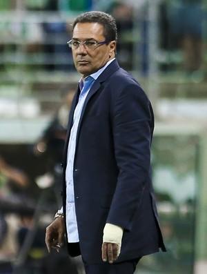 Vanderlei Luxemburgo comandou o Cruzeiro na derrota para o Palmeiras (Foto: Marcello Zambrana/Light Press/ Cruzeiro)