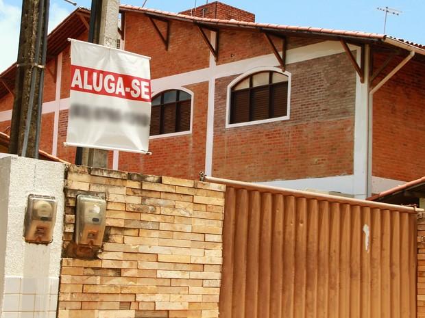 A maior parte da procura é para aluguéis que custam entre R$ 3 mil e R$ 6 mil o mês (Foto: Rizemberg Felipe/Jornal da Paraíba)