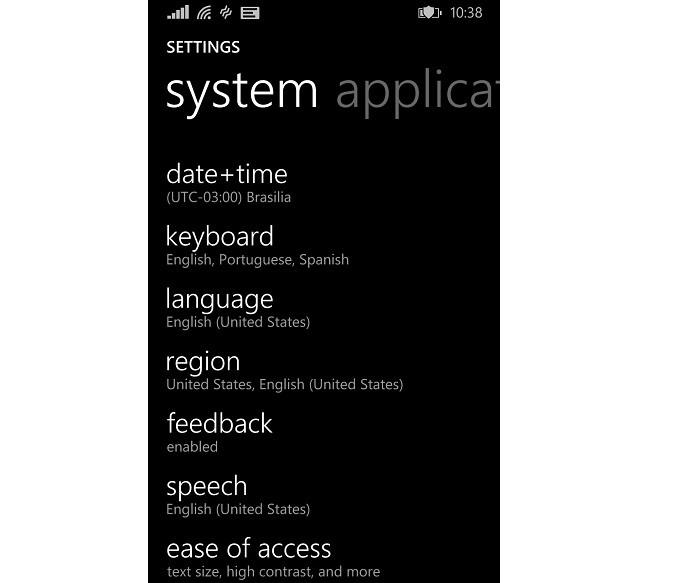 Mude o idioma na opção Languages (Foto: Reprodução/Thiago Barros)