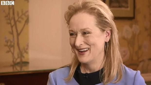 A atriz americana Meryl Streep (Foto: Divulgação/BBC)