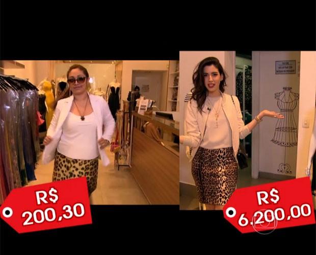 Veja como montar look sem gastar muito (Foto: Masi Você/ TV Globo)