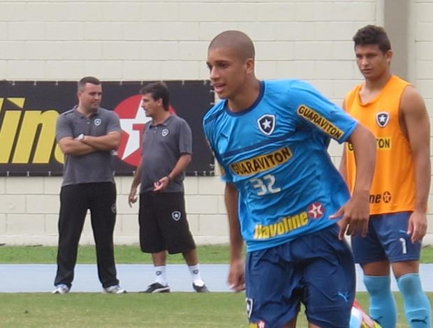 Doria no Treino do Botafogo (Foto: Thales Soares / Globoesporte.com)