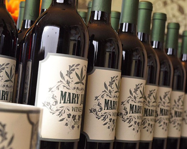 Vinho com extrato de maconha, da Mary Jane Wines (Foto: Reprodução/Instagram)