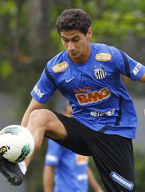 Ganso treino Santos (Foto: Ricardo Saibun/Divulgação Santos FC)