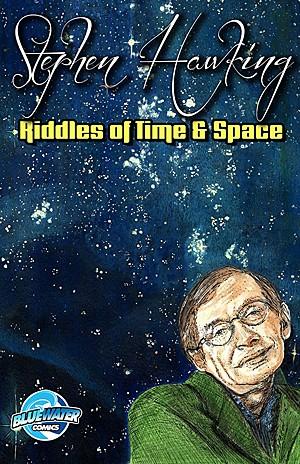 Físico britânico Stephen Hawking vira personagem de HQ (Foto: Reprodução/Facebook/Bluewater Comics)